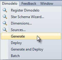 Generate, Deploy and Run